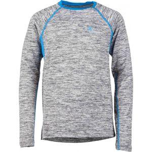 Klimatex ELINE modrá 146 - Detské tričko s dlhým rukávom