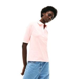 Lacoste S S/S BEST POLO svetlo ružová 40 - Dámske polo tričko