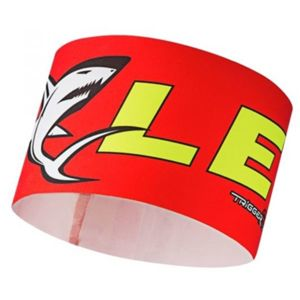 Leki RACE SHARK HEAD BAND červená UNI - Čelenka