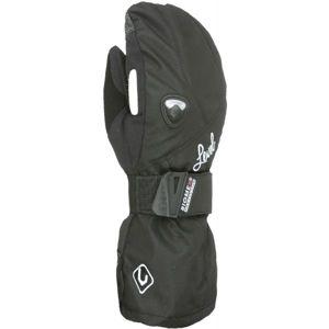 Level BUTTERFLY W MITT čierna 6 - Dámske snowboardové rukavice