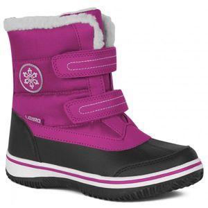 Lewro CAMERON ružová 31 - Detská zimná obuv