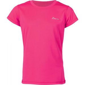 Lewro LEANDRA ružová 164-170 - Dievčenské tričko
