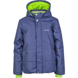 Lewro PALMER modrá 116-122 - Chlapčenská zimná bunda
