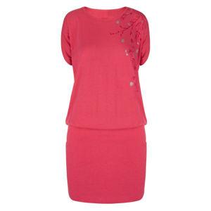 Loap ASLANA ružová L - Dámske športové šaty