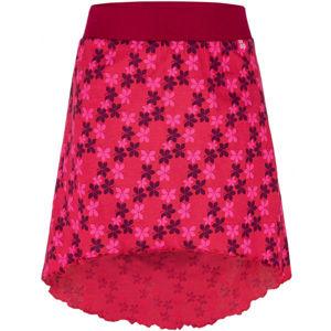 Loap BAJILA červená 112-116 - Dievčenská sukňa