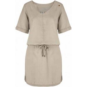 Loap NADYN béžová M - Dámske šaty