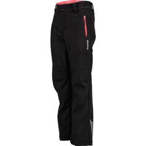 Lotto DAREK čierna 122-134 - Detské softshellové nohavice