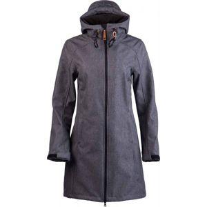 Lotto TINTA tmavo šedá S - Dámsky softshellový kabát