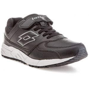 Lotto STRADA II LTH CL SL čierna 33 - Detská voľnočasová obuv