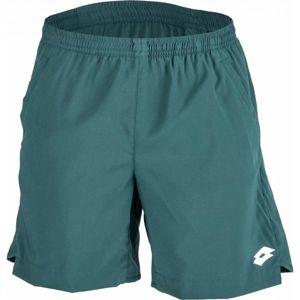 Lotto TECH SHORT 7 zelená XXL - Pánske tenisové šortky