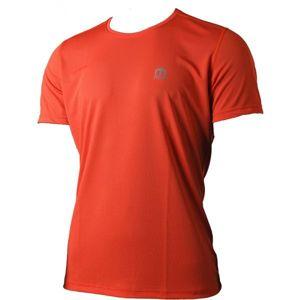 Mico SHIRT RUNNING oranžová XL - Pánske funkčné bežecké tričko