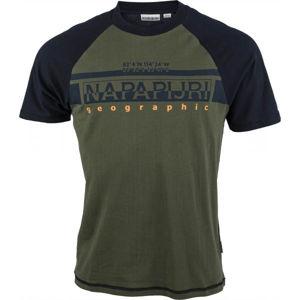 Napapijri SIRILO  L - Pánske tričko