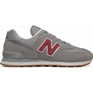 New Balance ML574SCC šedá 10.5 - Pánska voľnočasová obuv