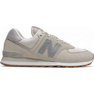 New Balance ML574SPS béžová 9.5 - Pánska voľnočasová obuv