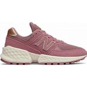 New Balance WS574ATG ružová 4 - Dámska voľnočasová obuv