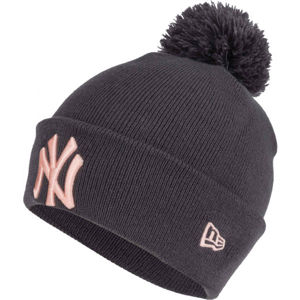 New Era WMNS MLB BOBBLE KNIT NEW YORK YANKEES  UNI - Dámska zimná čiapka