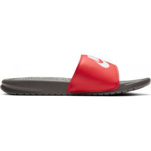 Nike BENASSI JDI červená 10 - Pánske šľapky