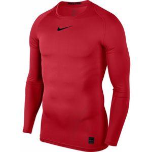Nike PRO TOP červená XXL - Pánske športové tričko