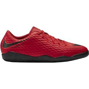 Nike HYPERVENOMX PHELON III IC červená 7 - Halová obuv