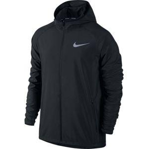 Nike ESSNTL JKT HD čierna M - Pánska bežecká bunda