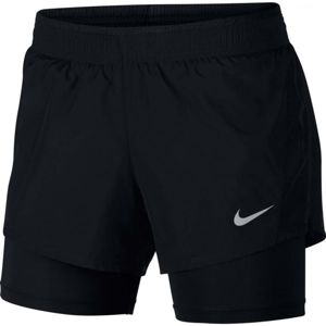 Nike 10K 2IN1 SHORT čierna L - Dámske bežecké šortky
