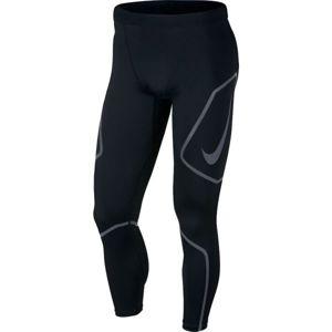 Nike TECH TIGHT FL GX čierna M - Pánske bežecké legíny