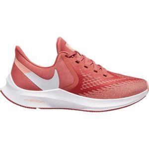 Nike ZOOM WINFLO 6 W červená 8 - Dámska bežecká obuv