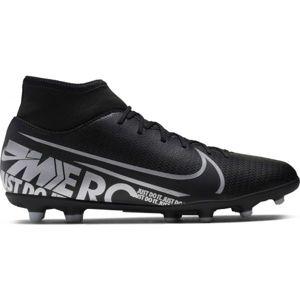 Nike MERCURIAL SUPERFLY 7 CLUB FG/MG čierna 10.5 - Pánske kopačky