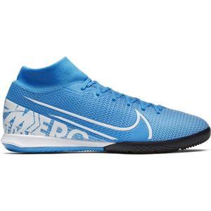Nike MERCURIAL SUPERFLY 7 ACADEMY IC modrá 9 - Pánska halová obuv
