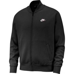 Nike NSW CLUB BOMBR JKT BB čierna XL - Pánsky bomber