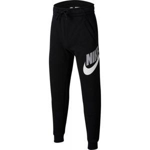 Nike NSW CLUB+HBR PANT B čierna XL - Chlapčenské tepláky