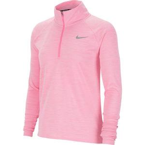 Nike PACER ružová L - Dámsky bežecký top
