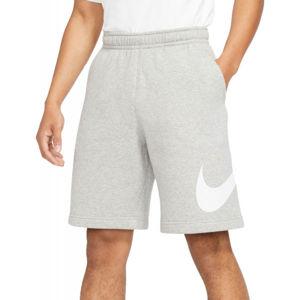 Nike NSW CLUB SHORT BB GX M sivá XL - Pánske kraťasy