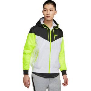 Nike NSW HE WR JKT HD M biela S - Pánska bunda