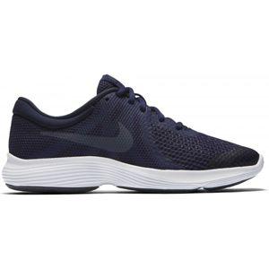 Nike REVOLUTION 4 GS tmavo modrá 5.5Y - Detská bežecká obuv