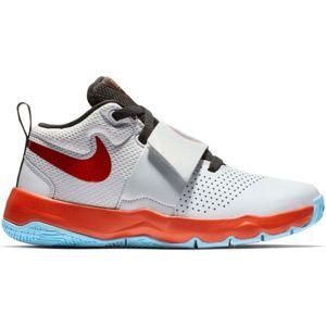 Nike TEAM HUSTLE D 8 SD šedá 4 - Detská basketbalová obuv