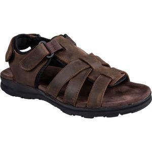Numero Uno MERCUS hnedá 45 - Pánske sandále