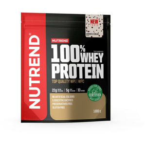 Nutrend 100% WHEY PROTEIN 1000 g COOKIES-CREAM   - Proteín