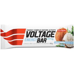 Nutrend VOLTAGE ENERGY 65G KOKOS   - Energetická tyčinka - Nutrend