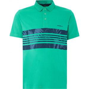 O'Neill LM HAUPU POLO zelená XL - Pánske tričko polo