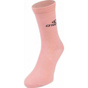 O'Neill LUREX STRIPE 2P ružová 39 - 42 - Dámske ponožky
