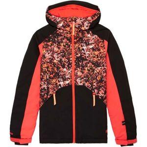 O'Neill PG ALLURE JACKET čierna 140 - Dievčenská lyžiarska/snowboardová bunda