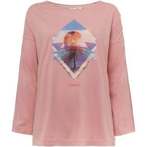 O'Neill LW KALANI L/SLV T-SHIRT svetlo ružová XS - Dámske tričko s dlhým rukávom
