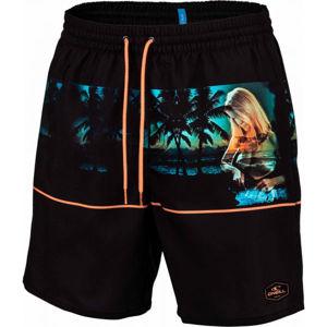 O'Neill PM ARCHIVE SHORTS čierna S - Pánske plavecké šortky