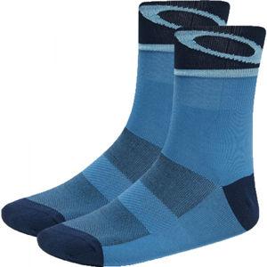 Oakley SOCKS 3.0 modrá L - Unisex ponožky