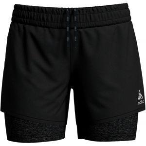 Odlo 2-IN-1 MILLENNIUM PRO čierna L - Dámske šortky