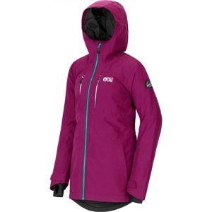 Picture APPLY fialová S - Dámska zimná bunda