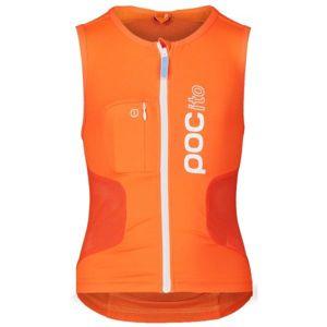 POC POCITO VPD AIR VEST oranžová L - Detský chránič chrbtice