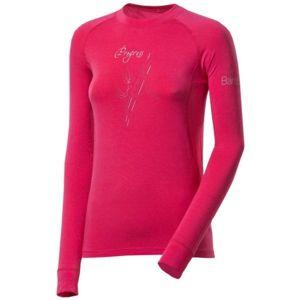 Progress E NDRZ BAMBUS ružová S - Dámske funkčné tričko