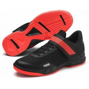 Puma RISE XT 4 čierna 10 - Pánska volejbalová obuv